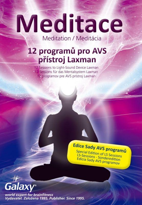 Sada doplňkových programů pro psychowalkman Laxman. Meditační Galaxy